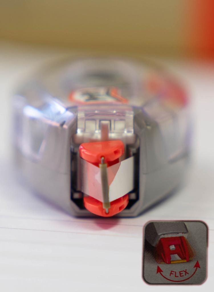 Flexible Korrekturspitze Pritt refill flex roller Test