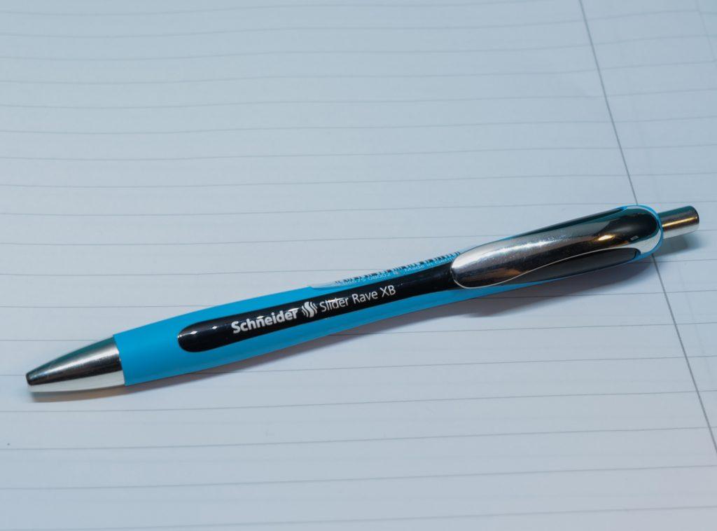 Schneider Slider Rave XB Ballpoint Pen