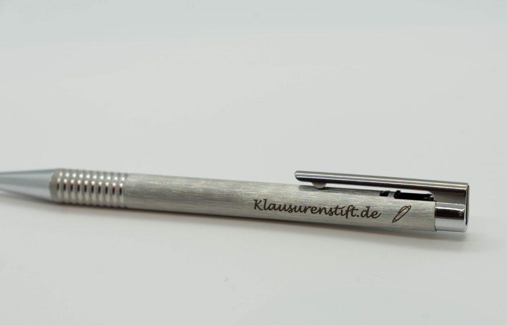 gravierter Kugelschreiber
