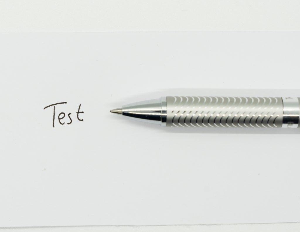 Gelschreiber Test