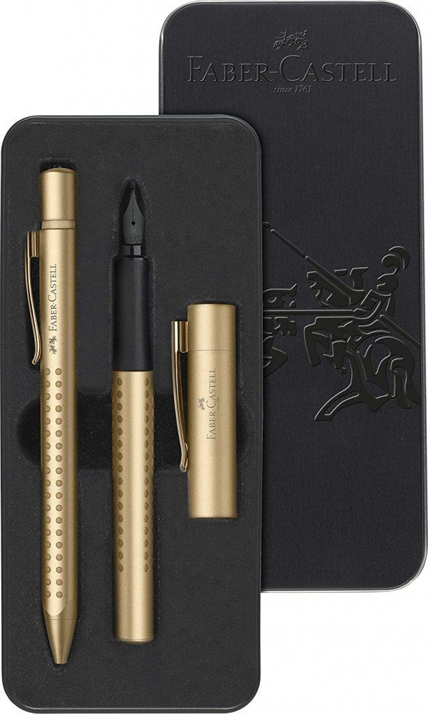 Faber Castell Gripp Gold set fountain pen